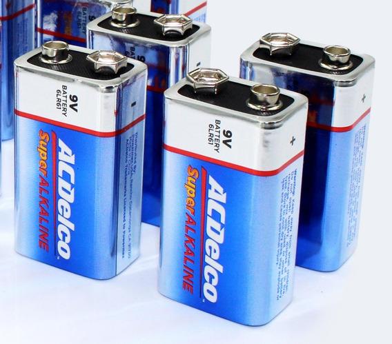 Batería Alcalina Acdelco 9v Al Detal (precio Por 3 Unidades)