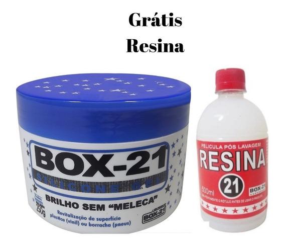 Silicone Gel Box 21 Painéis E Plásticos 250 + Resina Grátis