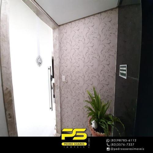 Apartamento Com 4 Dormitórios À Venda, 160 M² Por R$ 600.000 - Manaíra - João Pessoa/pb - Ap3861