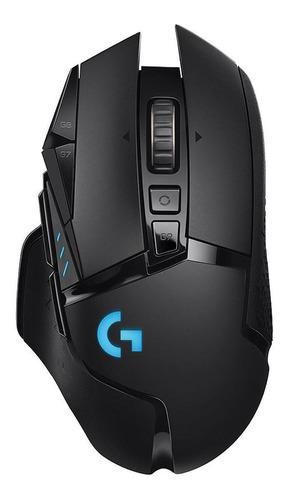 Imagen 1 de 3 de Mouse de juego Logitech  G Series Proteus Spectrum G502 negro