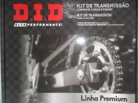 Kit Transmissão Did C/retentor Twister 250 Até 2008 Honda.