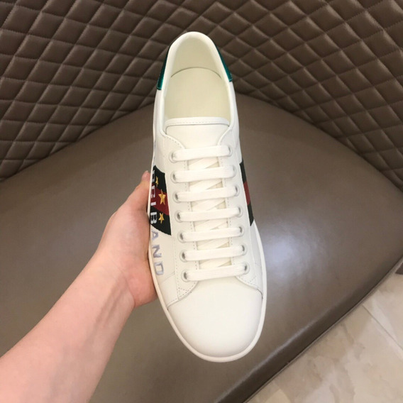 Tênis Ace Sneaker With Gucci Band 88
