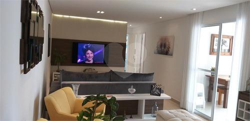 Lindo Apartamento De 88m² - 3 Dormitórios (sendo 1 Suíte) E Varanda Gourmet Próximo Da Av. Braz Leme - Reo560480