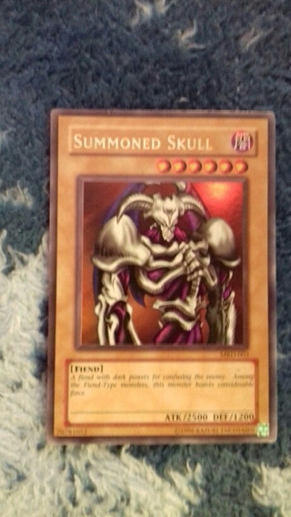 Yu-gi-oh! Summoned Skull Mrd-003 Ultra Rara Envio Gratis
