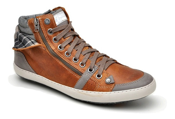 Sapatênis Bota Masculino Free Way Easy Wear Nick1