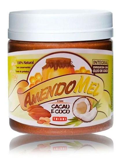 Pasta De Amendoim Amendomel C/ Mel Cacau E Coco 1kg - Thiani