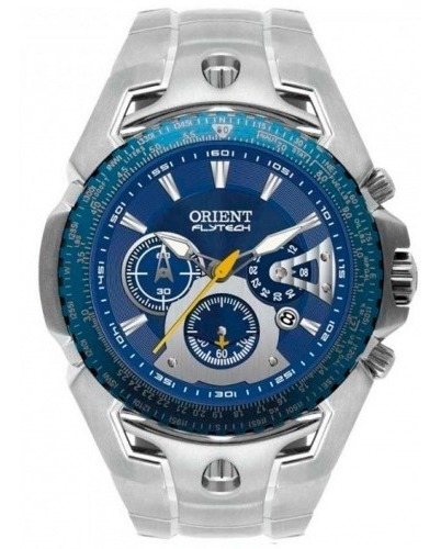 Relógio Orient Masculino Flytech Titanium Mbttc006 D1sx C/nf