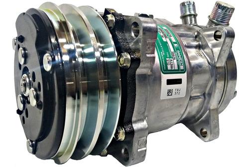 Compressor 5h14 Sanden 6626 12v  2a  Original Com Garantia