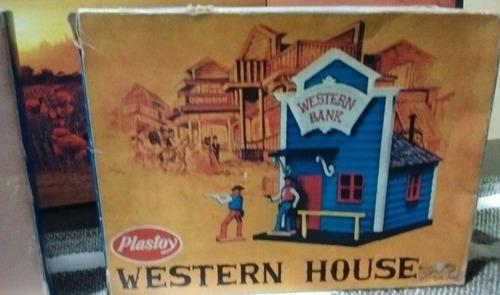 Western House Plastoy Para Soldaditos- Vaqueros