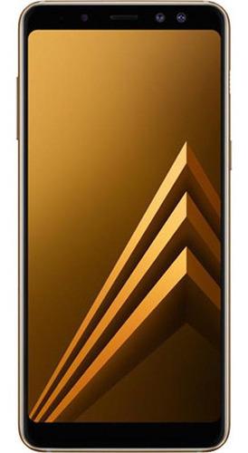 Imagem 1 de 4 de Celular Samsung Galaxy A8+ Usado Seminovo 64gb Excelente