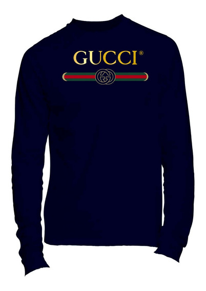 Playera Manga Larga Gucci