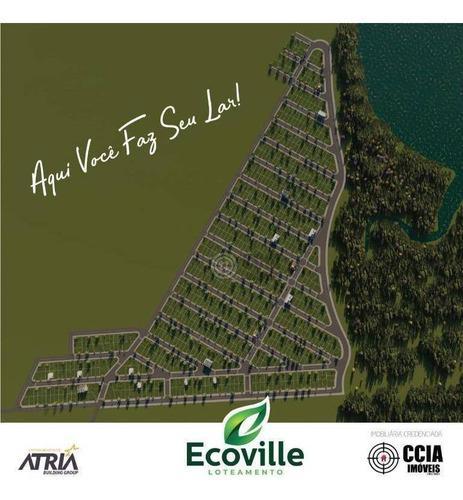Imagem 1 de 11 de Terreno À Venda, 200 M² Por R$ 86.000,00 - Loteamento Ecoville - Foz Do Iguaçu/pr - Te1693