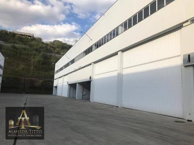 Excelente Galpão Para Locação Em Jandira - Polo Industrial - Confira!!! - Ga0108