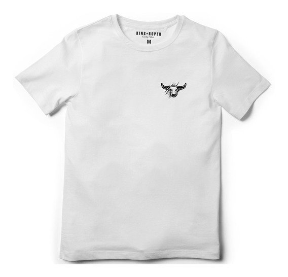 Camiseta Country King Roper Farm Tx Cinche Vaqueiro Ox Dock