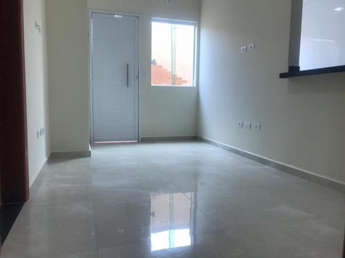 Imagem 1 de 9 de Casa Em Condomínio Para Venda Em Praia Grande, Vila Caiçara, 2 Dormitórios, 1 Banheiro, 1 Vaga - Ca0203_2-1168074