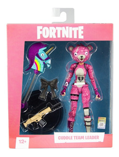 Muñeco Articulado Fortnite - Cuddle Team Leader