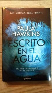 Escrito En El Agua -paula Hawkins/chica Del Tren-envío Grati