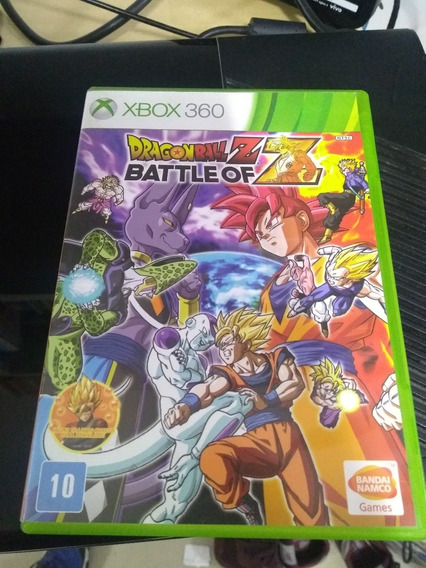 Dragon Ball Battle Of Z Xbox 360 Midia Fisica