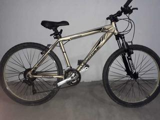 Bicicleta Mtb Enrique R26 21 Velocidades Suspensión Delanter