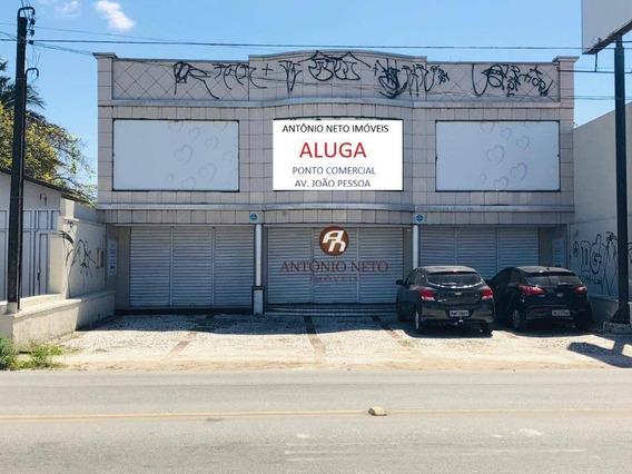 Ponto Para Alugar, 200 M² Por R$ 4.000,00/mês - Montese - Fortaleza/ce - Pt0007