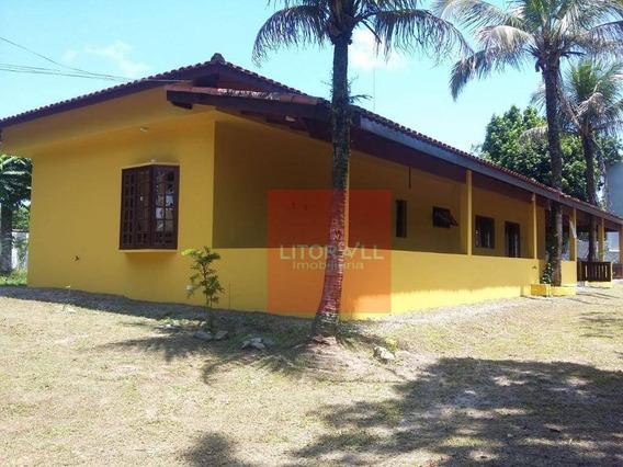 Chácara Com 3 Dormitórios À Venda, 2012 M² Por R$ 350.000 - Jardim Coronel - Itanhaém/sp - Ch0040