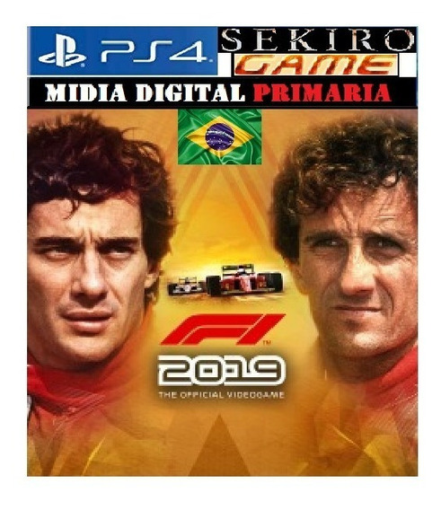 F1 2019 Legends Edition Senna & Prost Ps4 Digital 1 Original