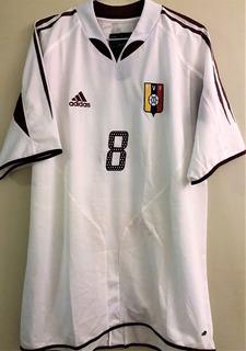 Camisa Venezuela Eliminatórias Copa 2006 Preparada Jogo