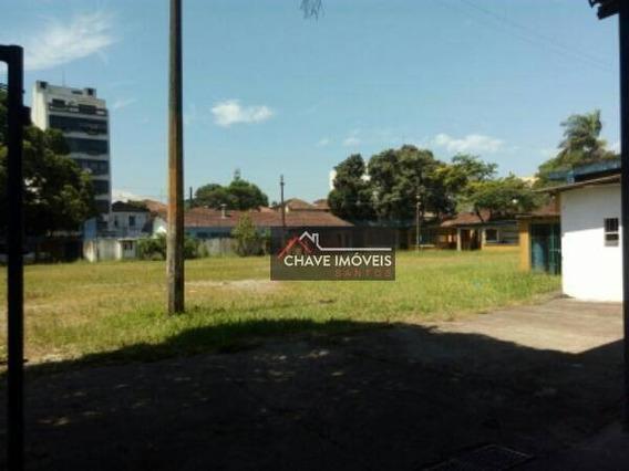 Área Para Alugar, 5000 M² No Bairro Da Encruzilhada - Santos/sp - Ar0002