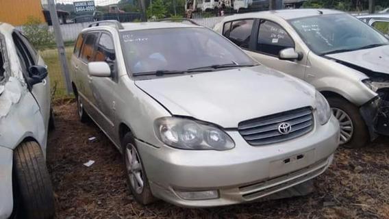 Sucata Toyota Fielder 1.8 Gasolina 2007 Rs Caí Peças