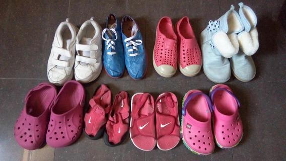Zapatos Bobs, Gymboree,crocs,nike, New Balance Usados.
