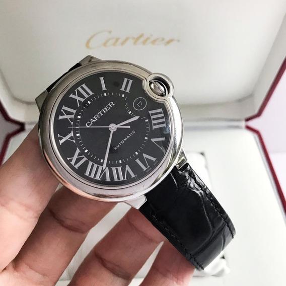 Cartier Ballon Bleu Leather 42mm 2019 - Garantia De Fábrica