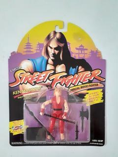 Street Fighter Ken Masters Shotokan Fighter 1993 Gi Joe Rene