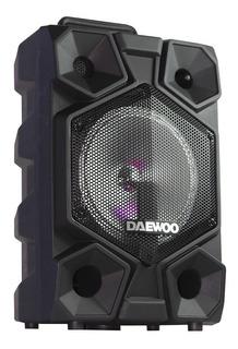 Bafles Amplificados 8 Pulgadas Bluetooth Profesional Daewoo