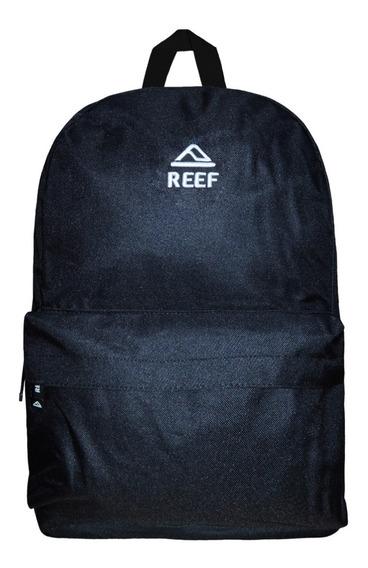 Mochila Reef Rf 750 Urbana Unisex Original Negro Blanco