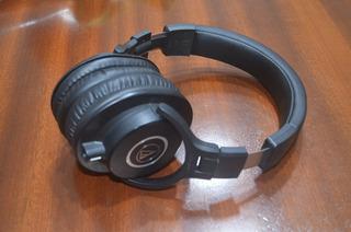 Auriculares Audio-technica Ath-m40x Negro Con Accesorios