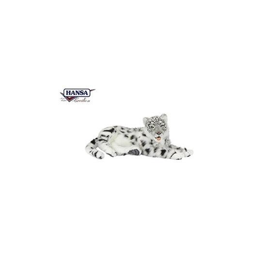 Hansa Toys Leopardo De Las Nieves Jacquard Colocación 24 L