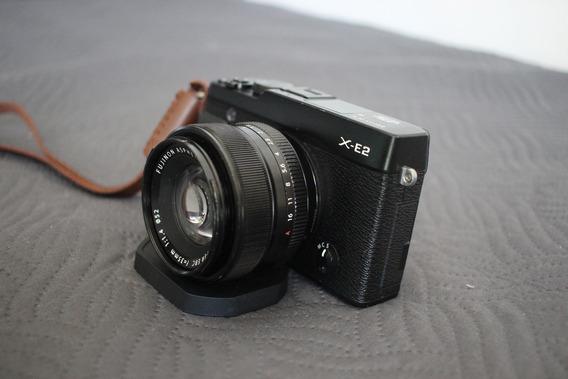 Câmera Fujifilm Xe2 + Lente Fuji 35mm F/1.4 + Grip + Bateria