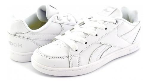 Tenis Escolar Reebok V69990 White/silver Royal Prime 17-25