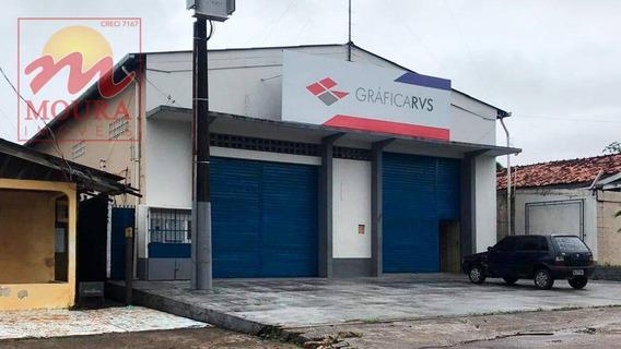Galpão À Venda, 348 M² Por R$ 795.000 - Beirol - Macapá/ap - Ga0023