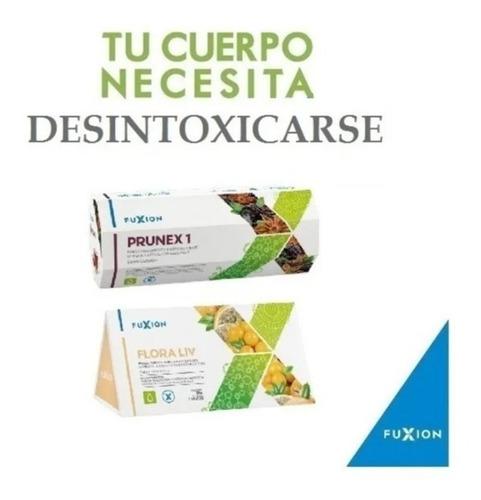 Detox Fuxion-productos Para Limpieza De Colon 5prunex 5flora