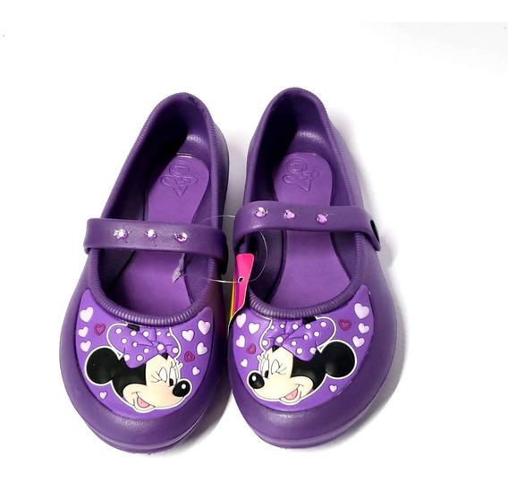 Guillermina De Goma Sandalias Disney Minie Nena Olivos