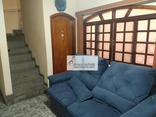 Casa Com 3 Dormitórios À Venda, 206 M² Por R$ 400.000,00 - Vila Assis - Sorocaba/sp - Ca2036
