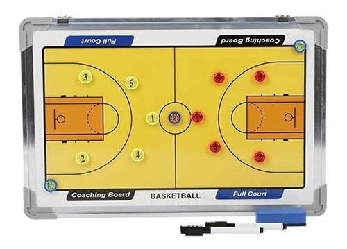 Pizarra Tacticas Basketball 30x45 Cm Magnética Baloncesto