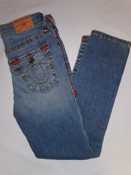 Jeans De Niño True Religion Rrelaxed Skinny Talla 6