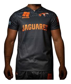 Camiseta Rugby Cays Jaguares Antidesgarro Resistente Partido Super Rugby