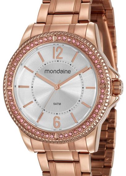 Relógio Mondaine Feminino Rose Gold 53601lpmvre3