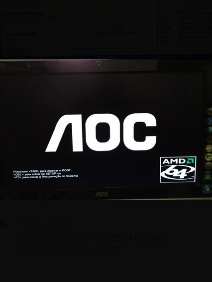 Tela Display Cpu Aoc