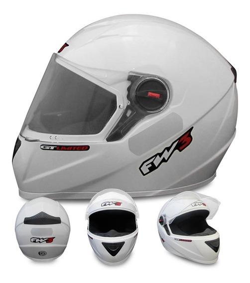 Capacete Moto Esportivo Inmetro Várias Cores