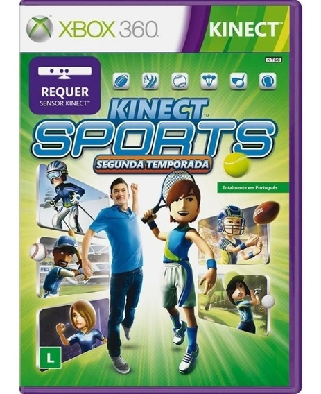 Kinect Sports Xbox 360 Segunda Temporada Original