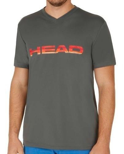 Remera Head Para Tenis Y Padel V-neck Original Tennis Paddle